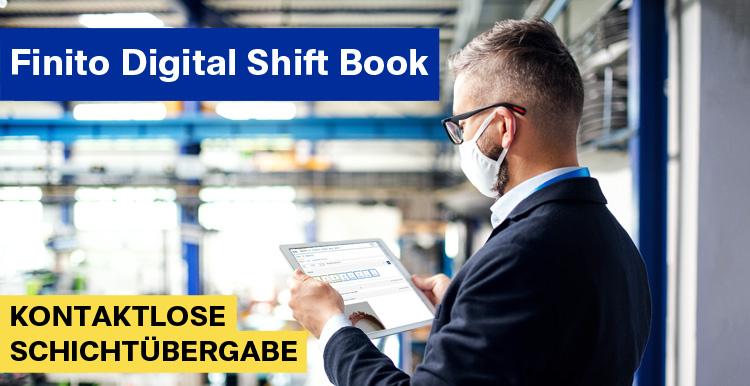 Finito digital shift book Corona Schichtübergabe