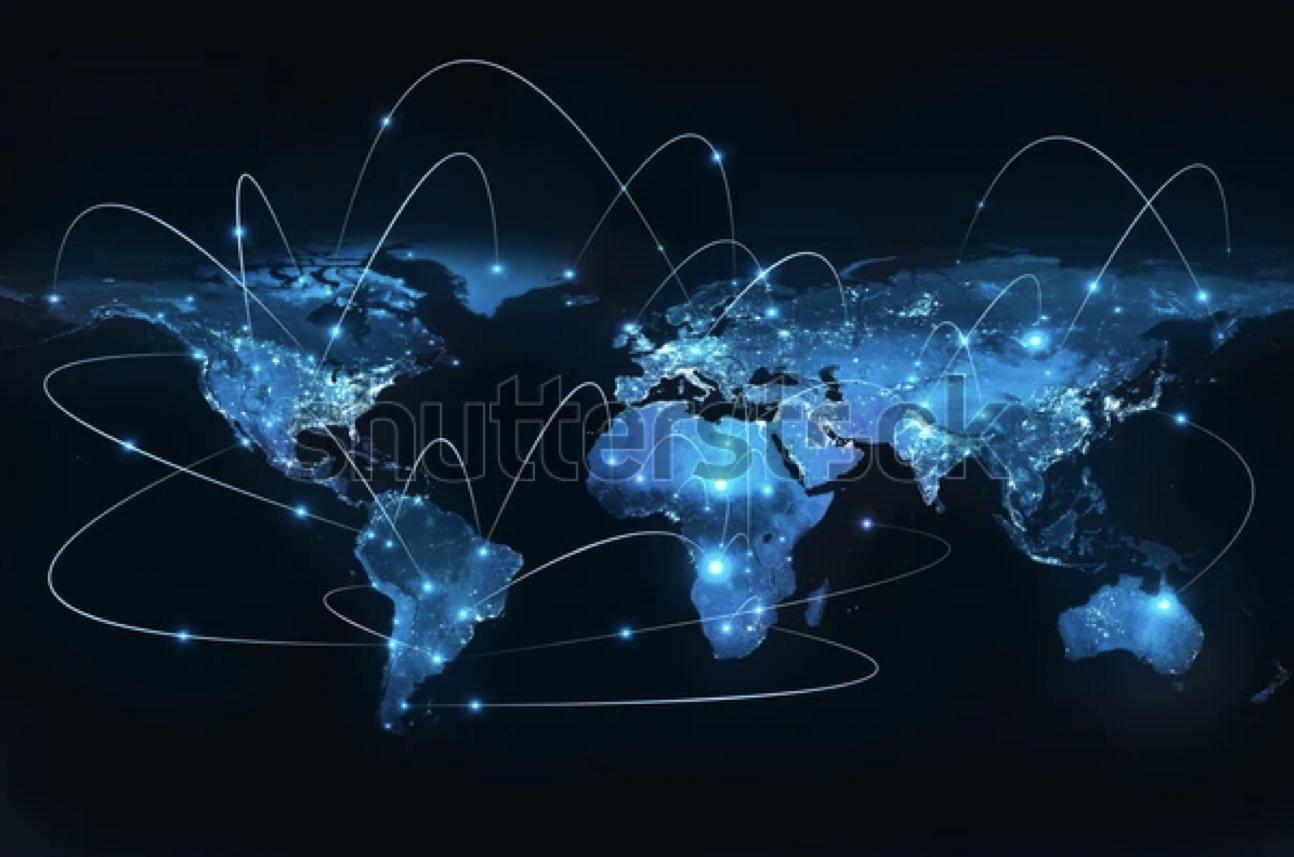 Arbeiten über Länder und Zeitzonen hinweg