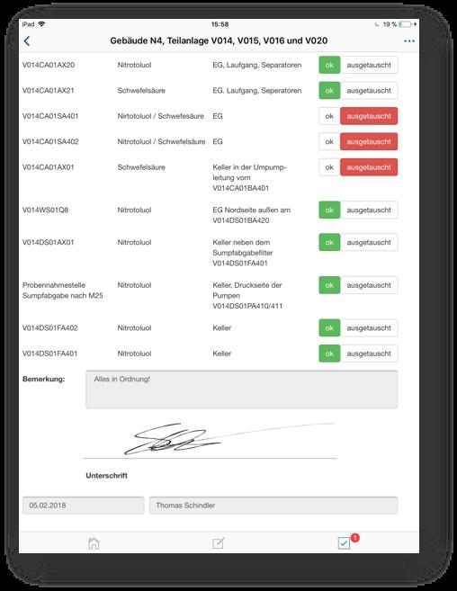 Checkliste Betriebsrundgang